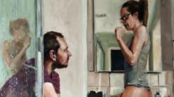 Questa immagine riassume tutta l'intimità e l'affetto di una coppia