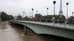 À Paris, la Seine amorce sa