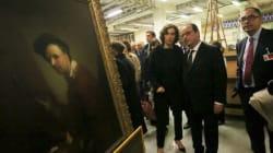 Hollande au Louvre pour soutenir les équipes chargées d'évacuer les œuvres