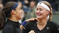 Les Françaises remportent la finale du double dames de