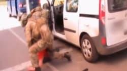 Les incroyables images de l'arrestation du terroriste en