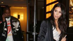 Kim Kardashian et North West portent des robes