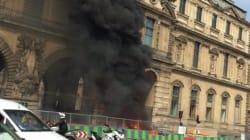 Plus de peur que de mal au Louvre après un incendie