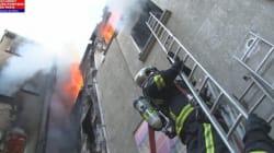 5 morts et 2 blessés graves dans l'incendie d'un immeuble à