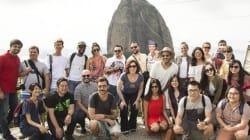 Gringos visitam o Rio pela primeira vez. Estas são suas