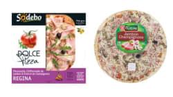 Les dessous de la pizza regina ne sont pas très