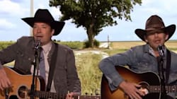 Jimmy Fallon Turns 'FML' Posts Into Country