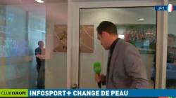 Ce journaliste a rendu le lancement d'Infosport+ très drôle (à ses