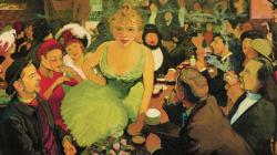 Une toile inédite de Louis Anquetin dévoilée à