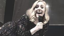 À Bercy, Adele a prévenu qu'elle était