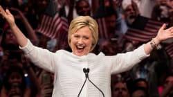 Grâce à ce soutien, Hillary Clinton remporte le