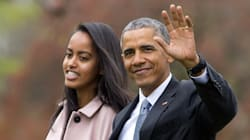 Malia Obama Graduates High School, Her Dad Can't Handle