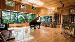En pleine nature, ce studio d'enregistrement à faire rêver est à vendre