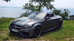 Essai Mercedes-Benz Classe C cabriolet 2017