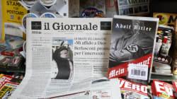 Il Giornale riporta il Mein Kampf in giro per il