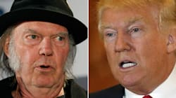 Neil Young: 'F**k You, Donald