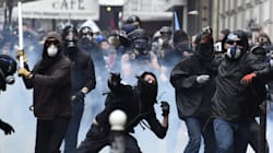 Tensions et violences lors de la manifestation anti-loi