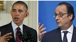 Obama et Hollande veulent «augmenter la coopération» entre les deux