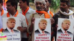 Mais pourquoi donc ces Indiens vénèrent Donald
