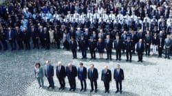 La minute de silence en hommage aux deux policiers