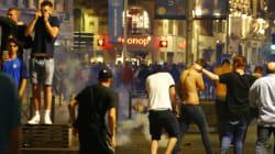 200 supporters britanniques dispersés au gaz lacrymo dans la nuit à