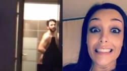 Nabilla filme Thomas Vergara sous la douche (et il n'est pas