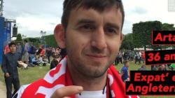 Notre supporter albanais regrette que des Français soient en grève pendant