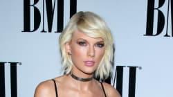 Taylor Swift félicitée d'avoir été la première à remporter le prix... Taylor