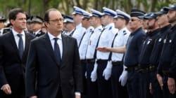 Hollande affirme qu'il n'accepte pas que des policiers