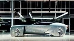 Le dernier concept car Rolls Royce ressemble à une Batmobile de