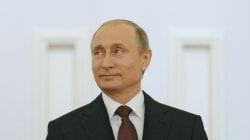 Poutine ironise sur la violence des hooligans russes pendant