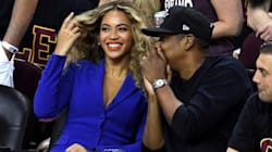 Only Beyonce Could Steal The Show At The NBA