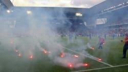 Les supporters croates perturbent le match qu'ils étaient en train de gagner contre les