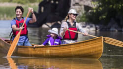 The Trudeaus Take Up A Paddle For Rouge River