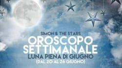 Questa settimana c'è la luna piena di Giugno. L'oroscopo di Simon and the