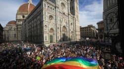 Quel gonfalone mancante non ha rovinato il Toscana Pride.