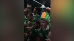 Les supporters irlandais ont encore frappé
