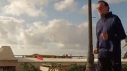 Rajoy vuelve a la carga con el 'footing' en un nuevo vídeo