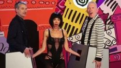 De Caunes et Gaultier palpés à la télévision britannique (pour parler