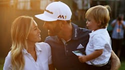 Paulina Gretzky Steals The Show In Polo Mini Dress At U.S.