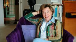 La romancière et militante féministe Benoîte Groult est