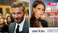 David Beckham prend position contre le Brexit, le camp adverse lui ressort