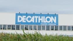 Des vidéos de cabines d'essayage Décathlon diffusées sur des sites