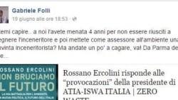 Ora Parma accusa Roma. L'assessore all'Ambiente contro la nomina della Muraro: