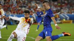 L'Espagne trébuche, promettant un 1/8e de finale de