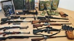 Procès Bain : 12 armes et 20 000 munitions saisies au chalet de