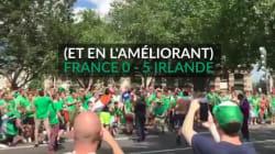 Avant France-Irlande, 0-10 pour les supporters en