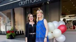 Styles de soirée: Danièle Henkel remet un Prix au Centre Dermalounge