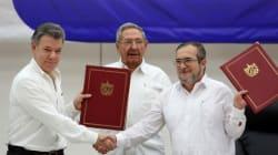 Accord historique de cessez-le-feu entre les FARC et le gouvernement