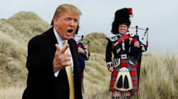 Donald Trump débarque en Ecosse en plein
